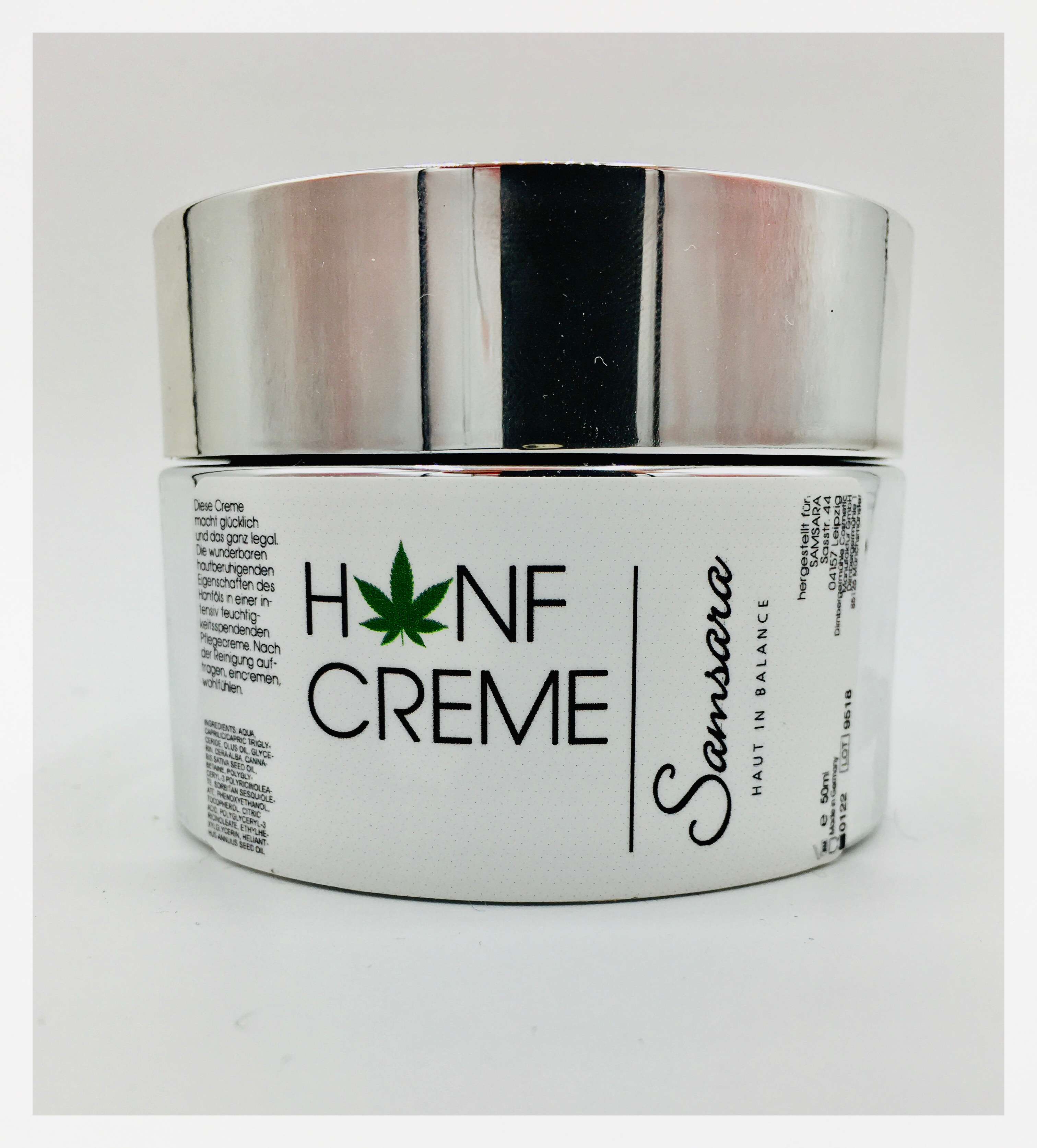 Happy Skin Hanfcreme 50 ml