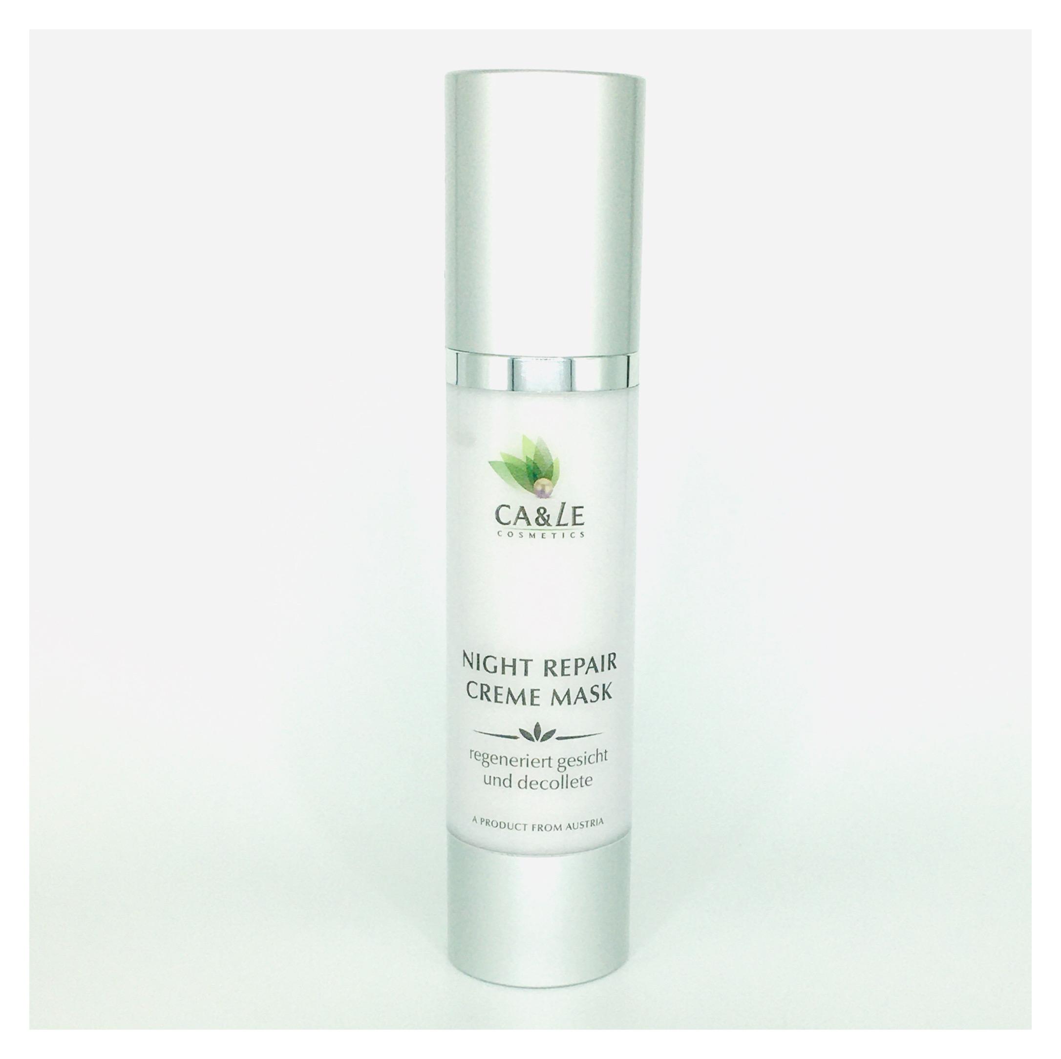 Ca& Le Night Repair Cream Maske 50 ml