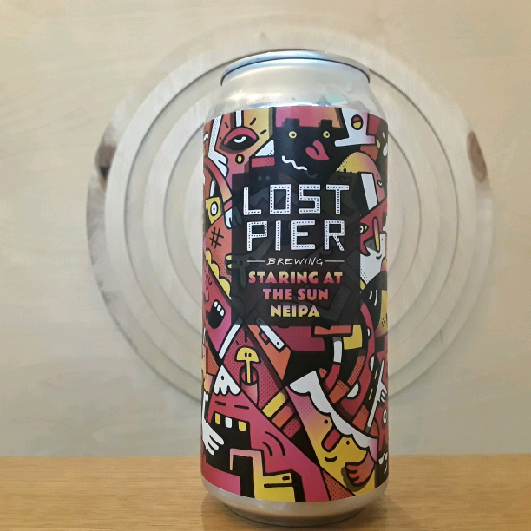 Lost Pier | Staring at the Sun | NEIPA
