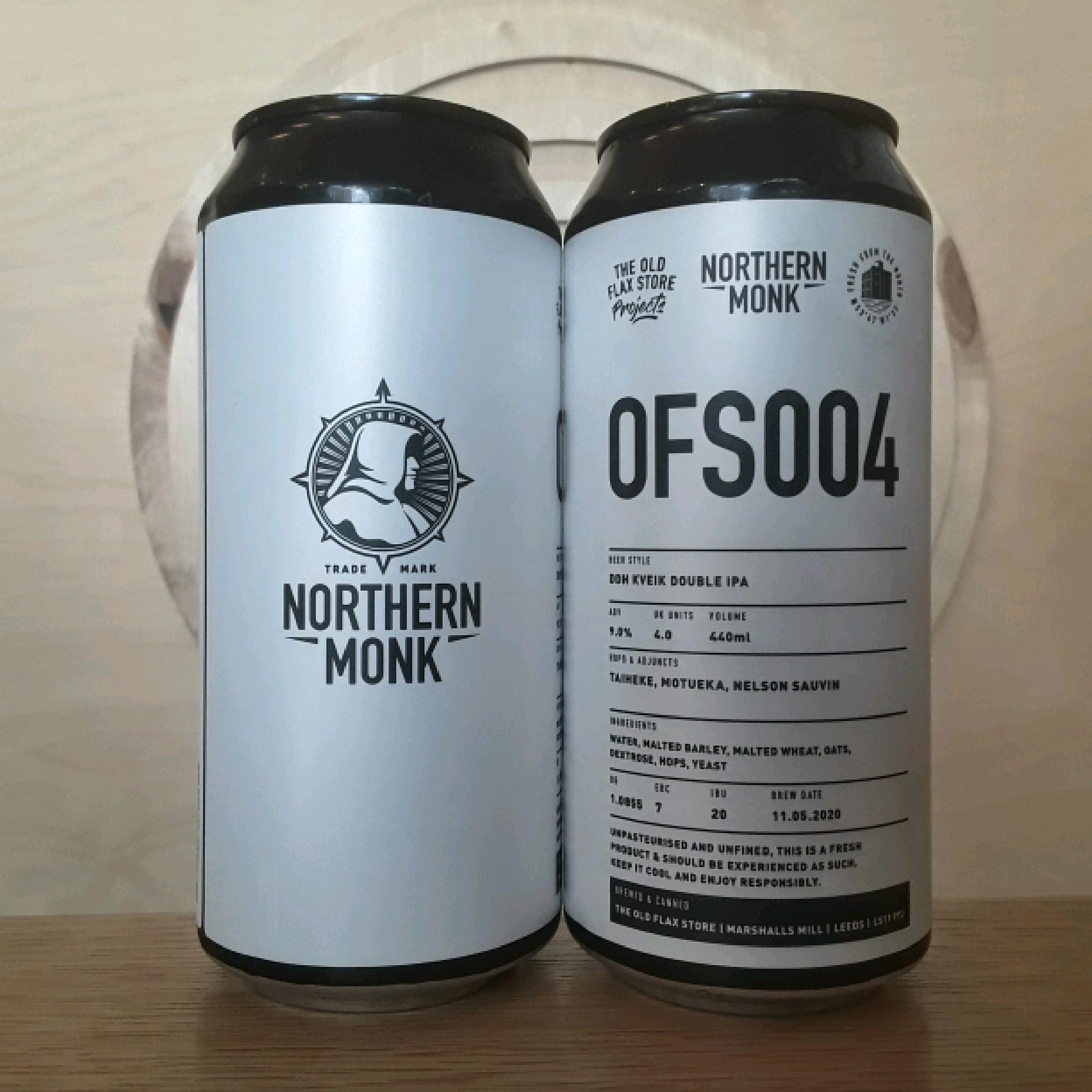 Northern Monk | Old Flax Store Series 004 | Kveik DIPA