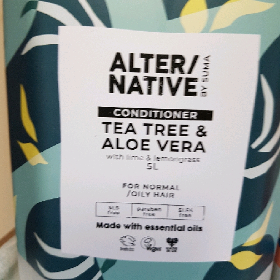 Conditioner-Tea tree and Aloe Ver - per 100g
