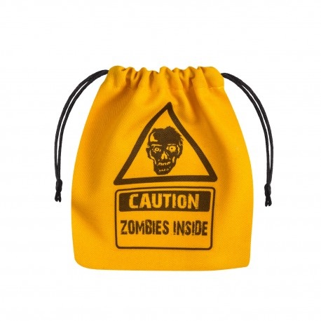 Dice Bag Zombie on yellow
