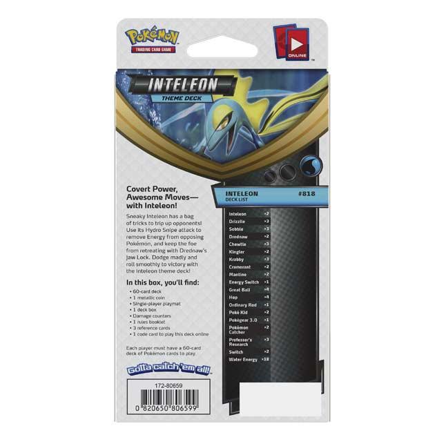 Pokémon Sword & Shield Theme Deck: Inteleon