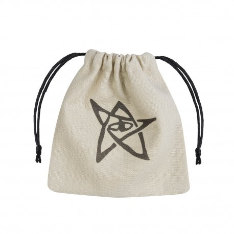 Dice Bag Call of Cthulhu Beige & black