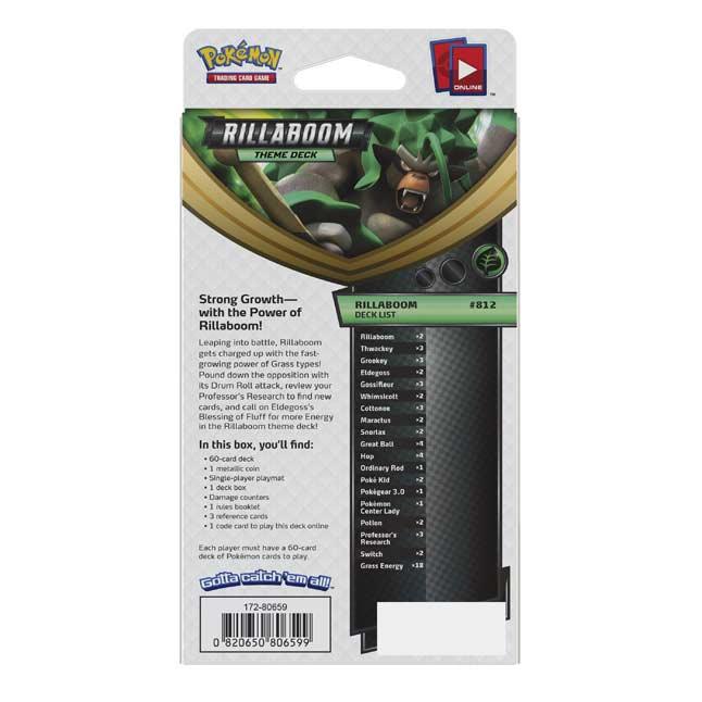Pokémon Sword & Shield Theme Deck: Rillaboom