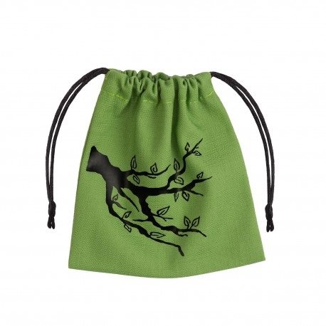 Dice Bag Ent on green Bag