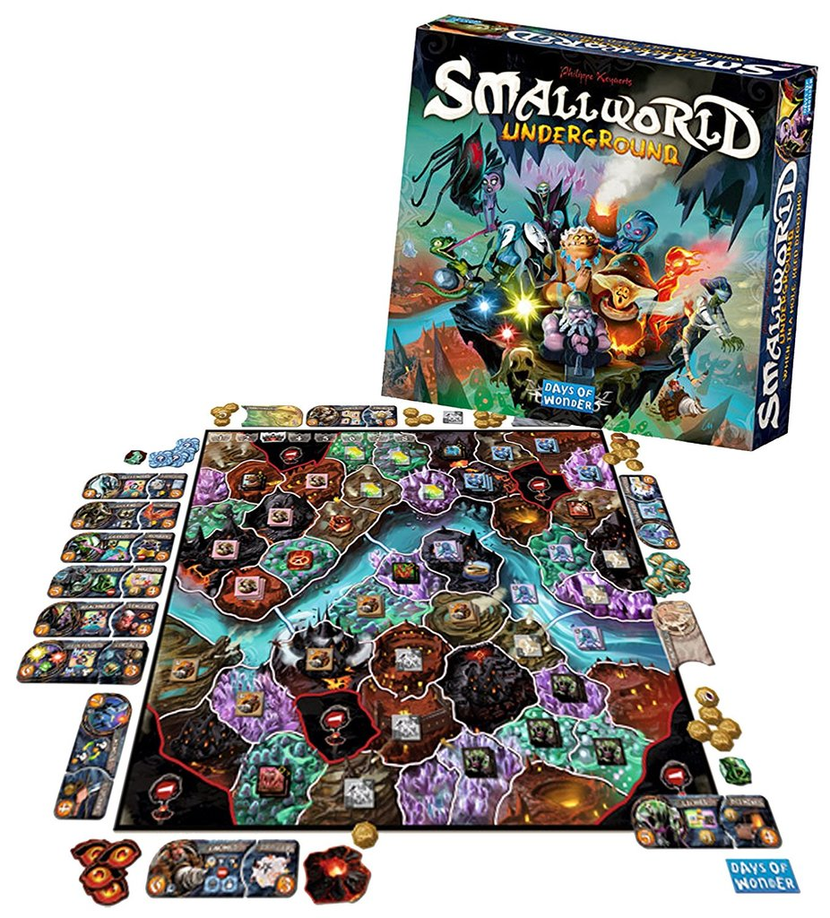 Small World Underground (Engelska regler)