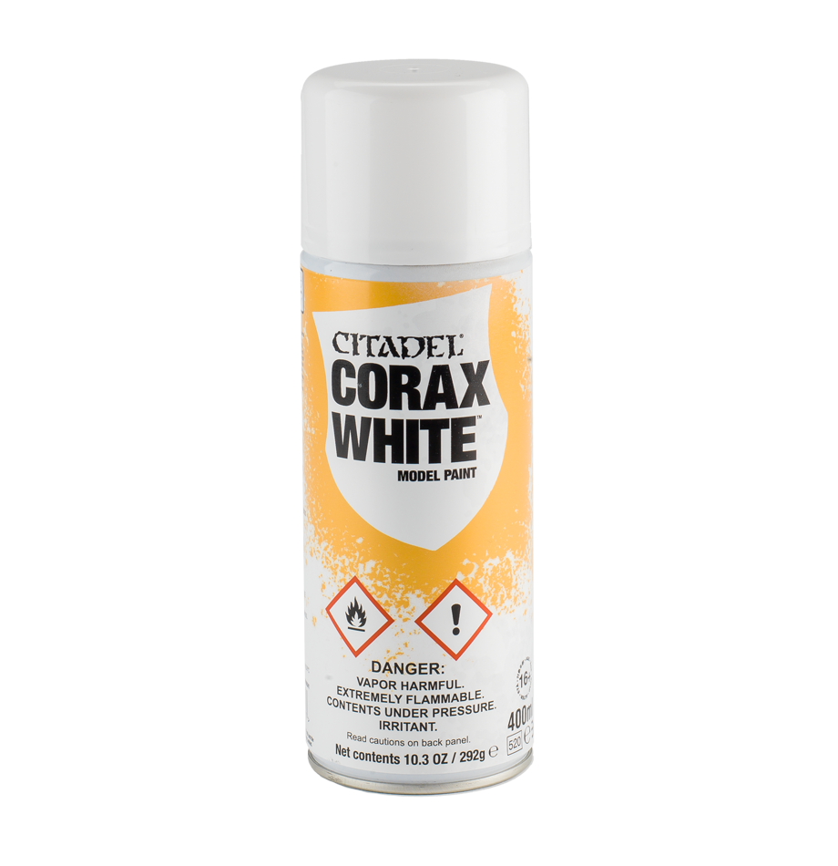 Citadel Model Paint Spray - Corax White