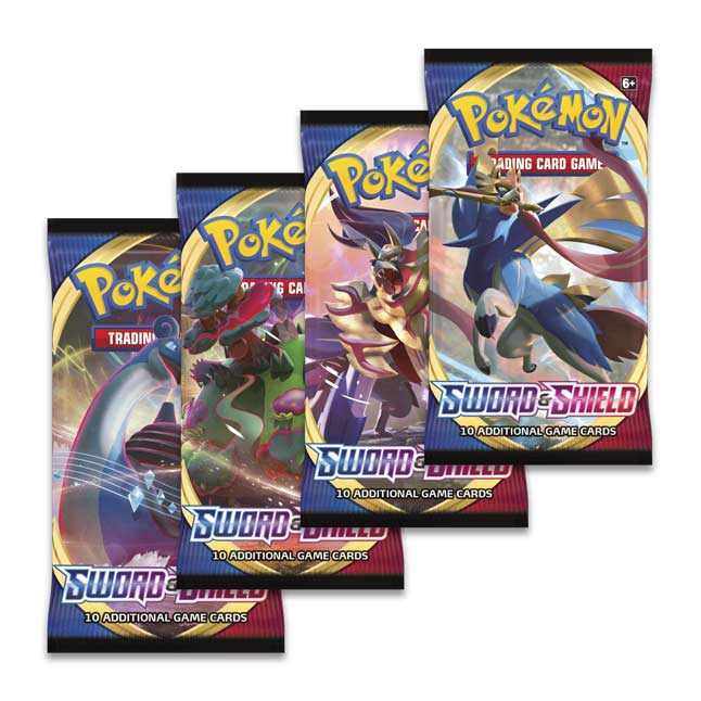 Pokémon TCG Sword & Shield Booster Pack