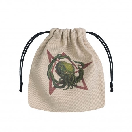 Dice Bag Call of Cthulhu Beige & multicolor