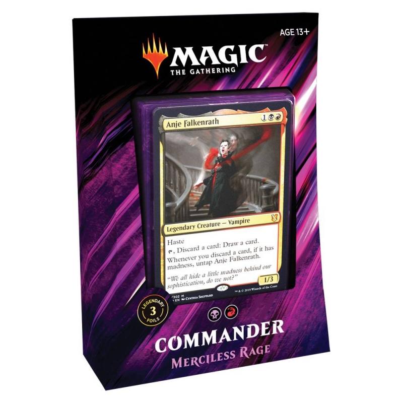 MtG Commander 2019 - Merciless Rage
