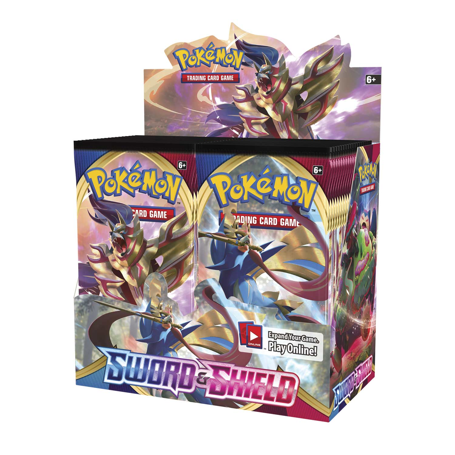 Pokémon TCG Sword & Shield Booster Display