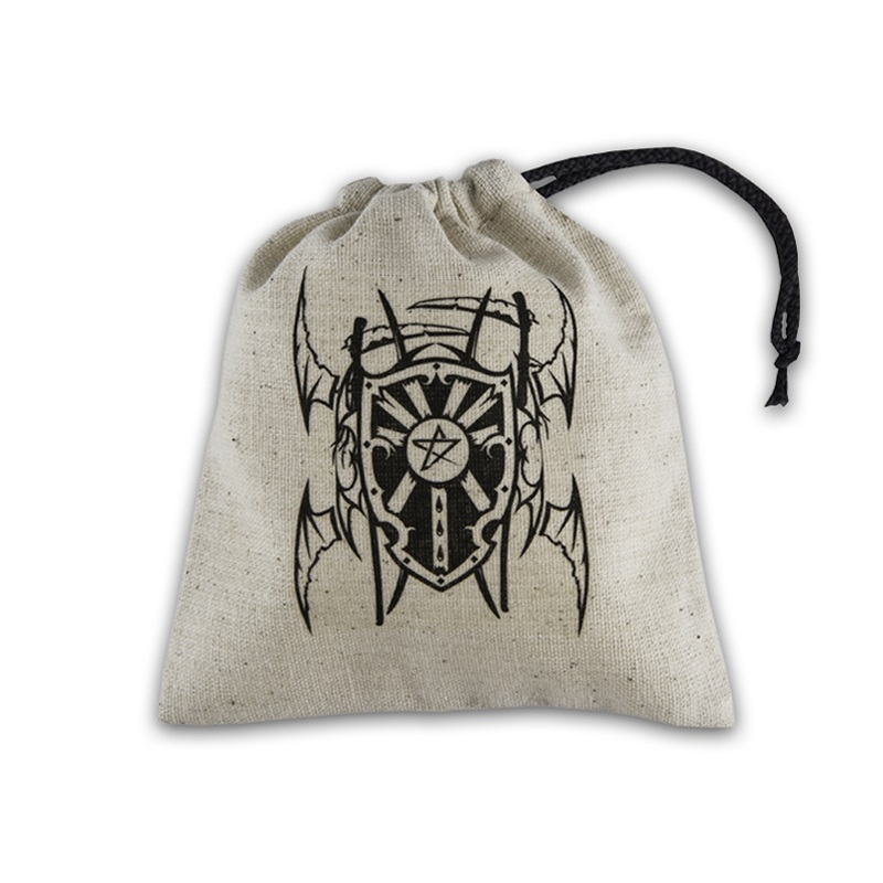 Dice Bag Vampire beige & black