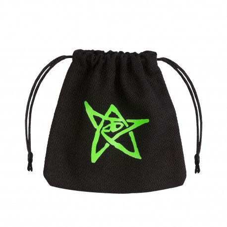 Dice Bag Call of Cthulhu Black & green