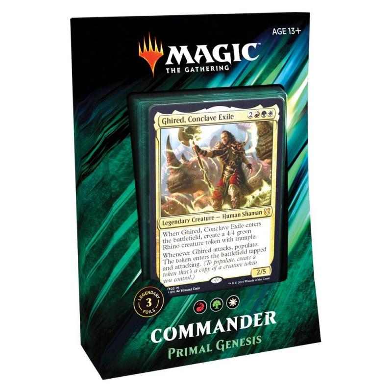 MtG Commander 2019 - Primal Genesis