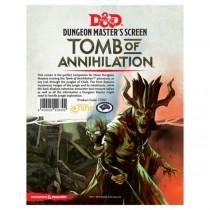 D&D 5e DM Screen - Tomb of Annihilation