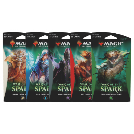 WAR Theme Booster - Red