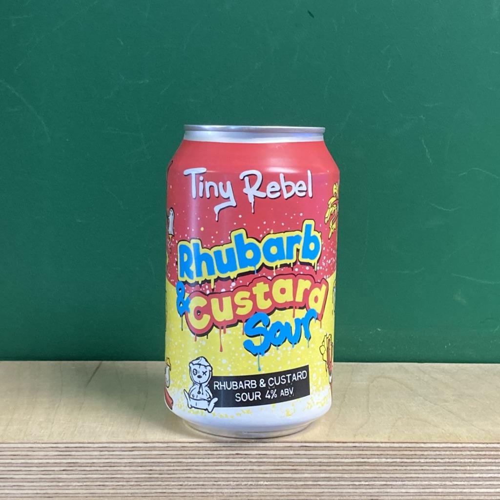 Tiny Rebel Rhubarb & Custard Sour