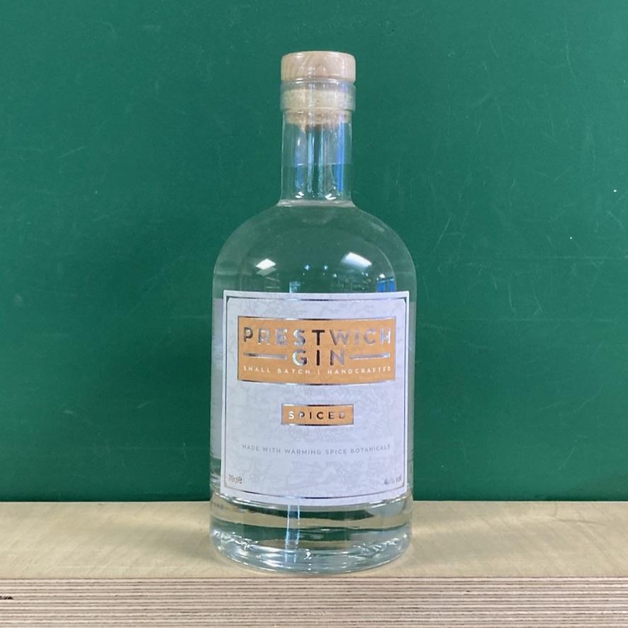 Prestwich Gin Spiced - 70cl