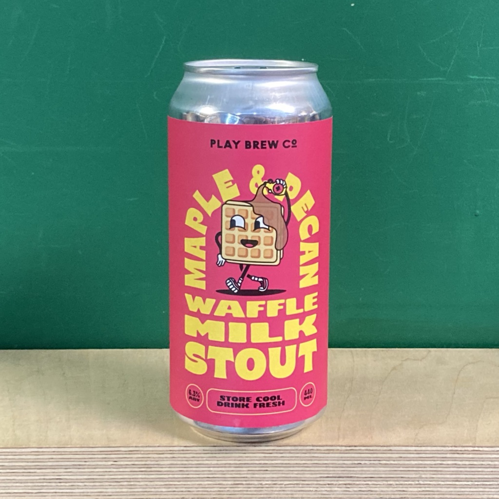 Play Brew Co Maple & Pecan Waffle Milk Stout