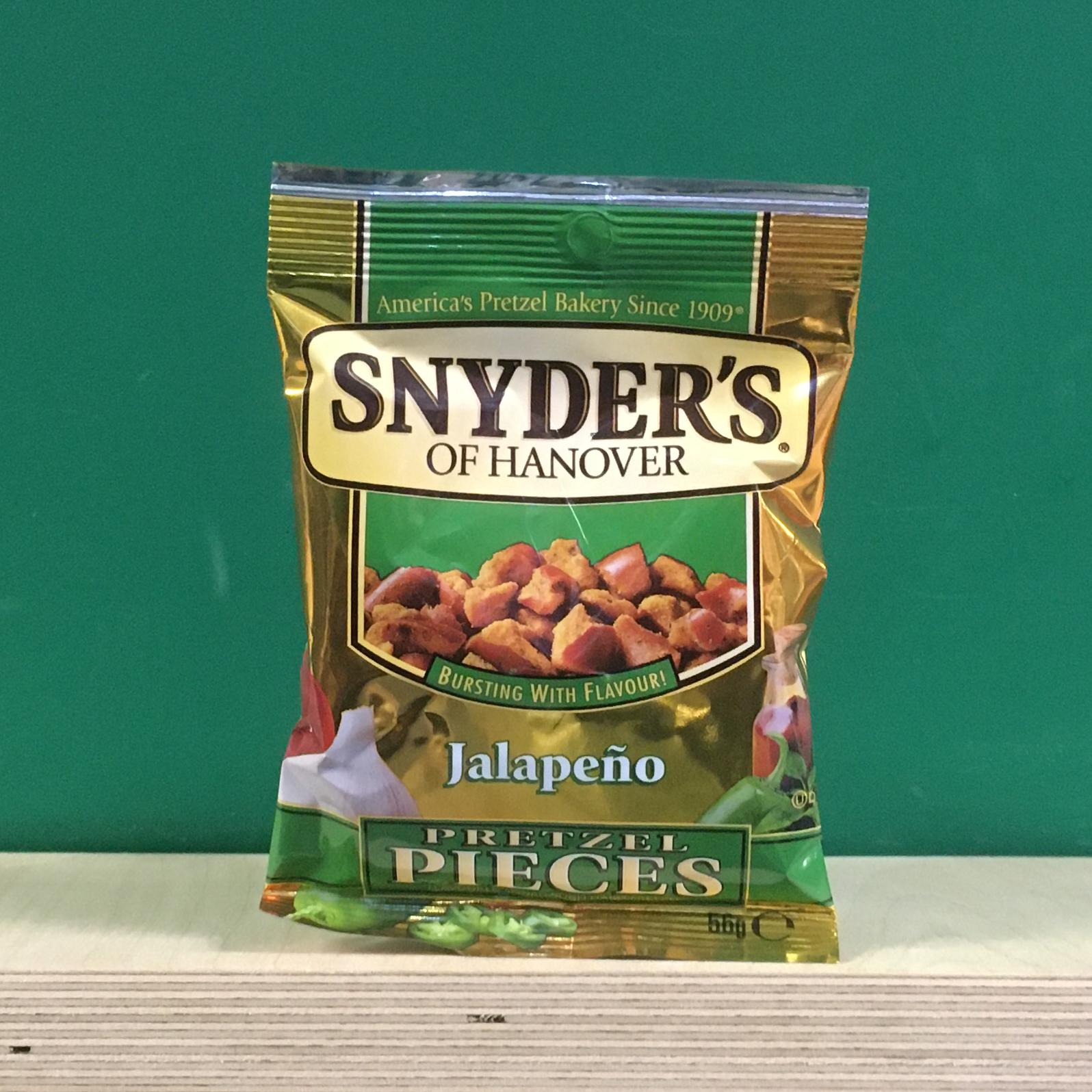 Snyder's Pretzel Pieces Jalapeño
