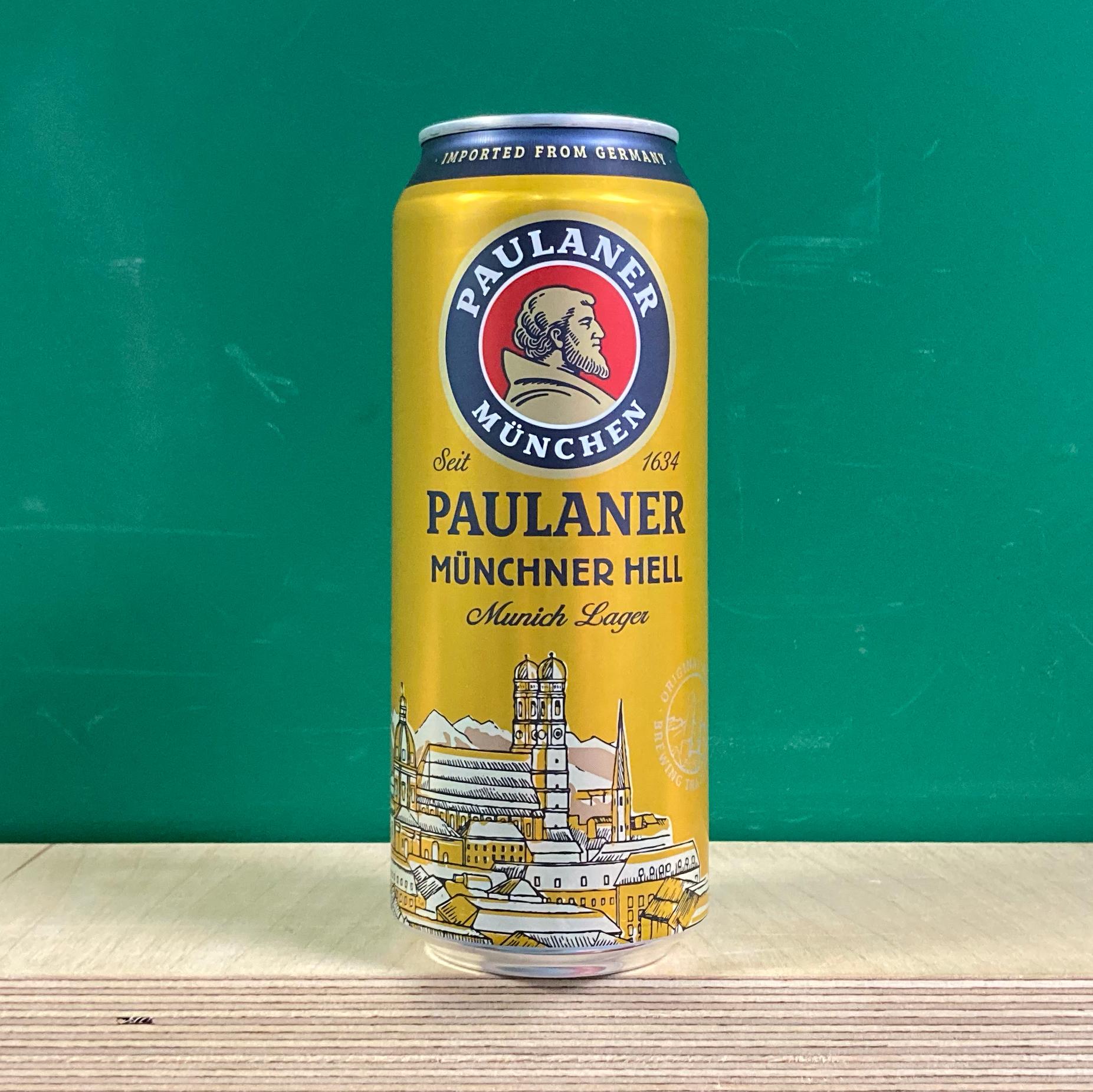 Paulaner Munchner Hell Can