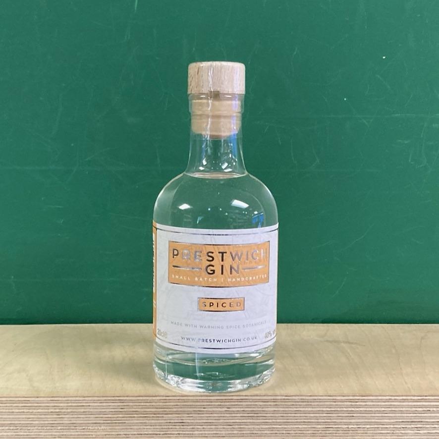 Prestwich Gin Spiced - 20cl