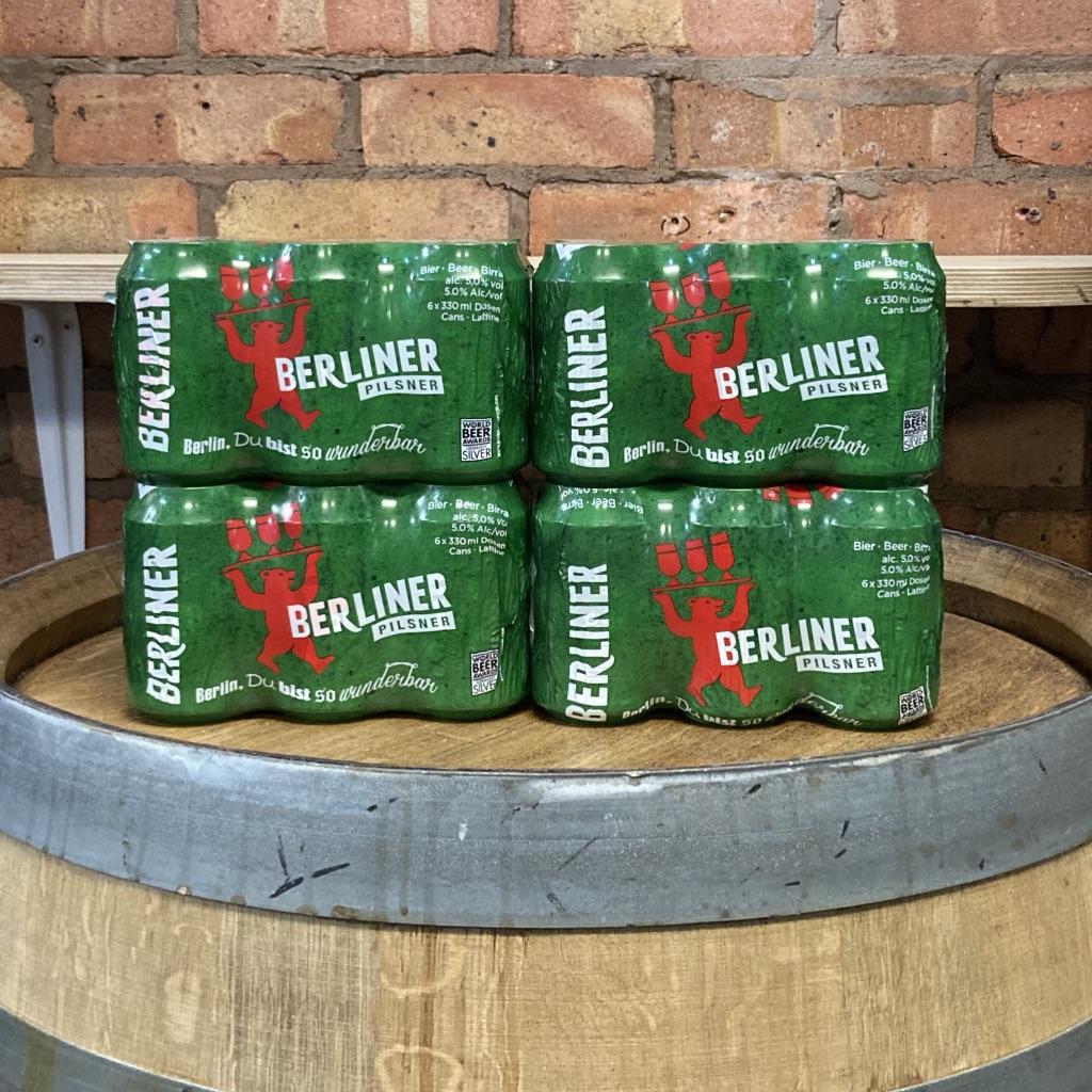 Berliner Pils Case (24 cans)