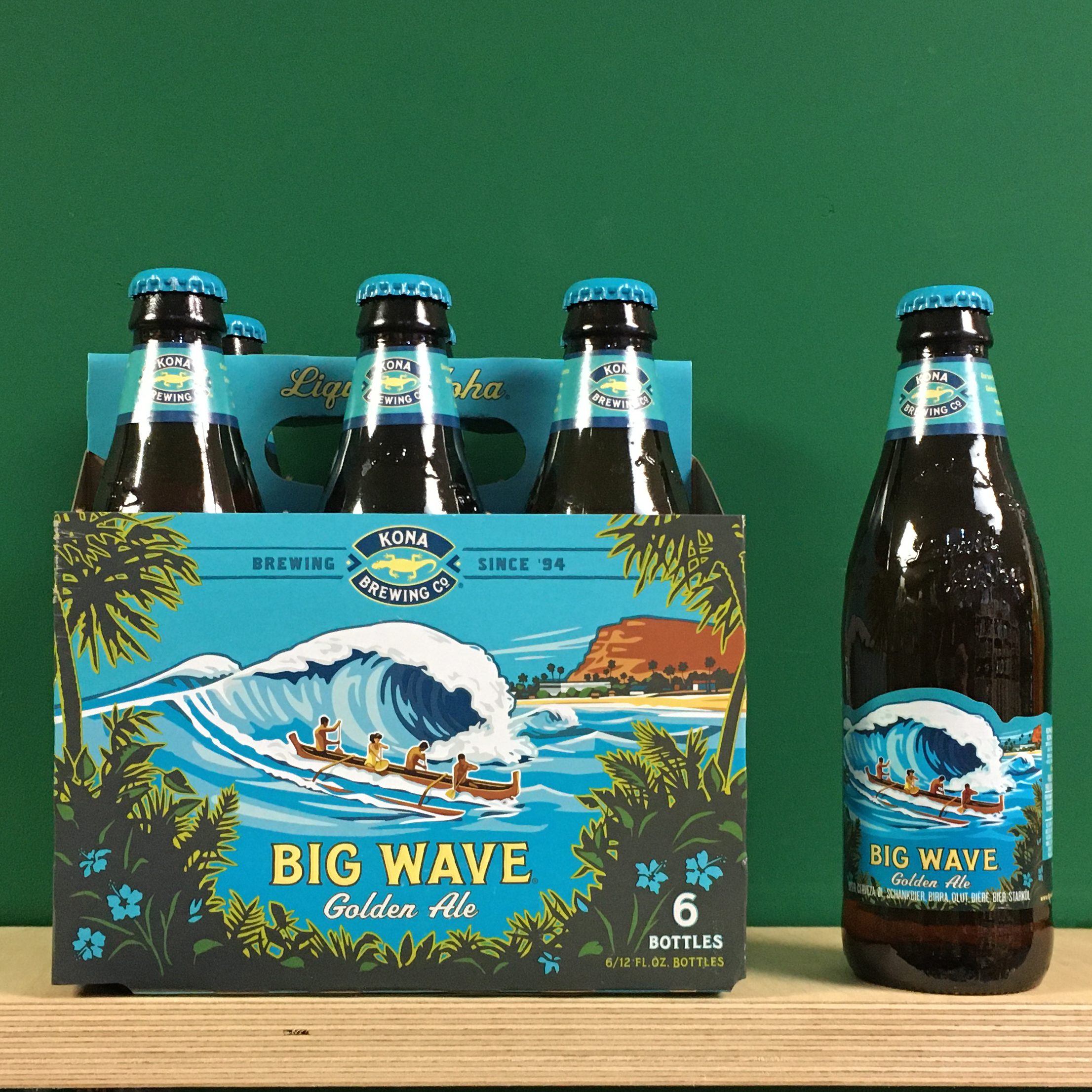 Kona Big Wave 6 Pack