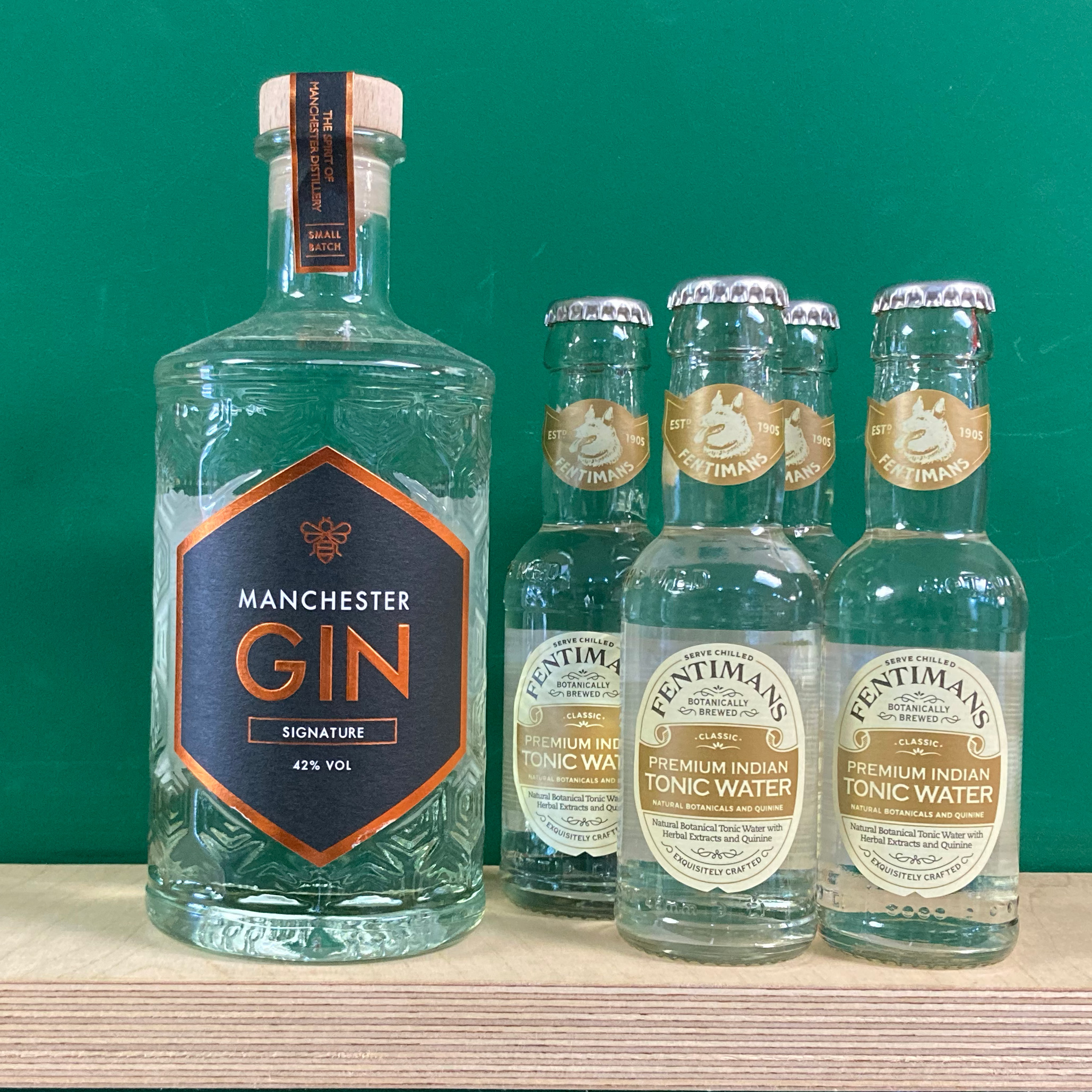 Manchester Signature Gin & Tonic Pack
