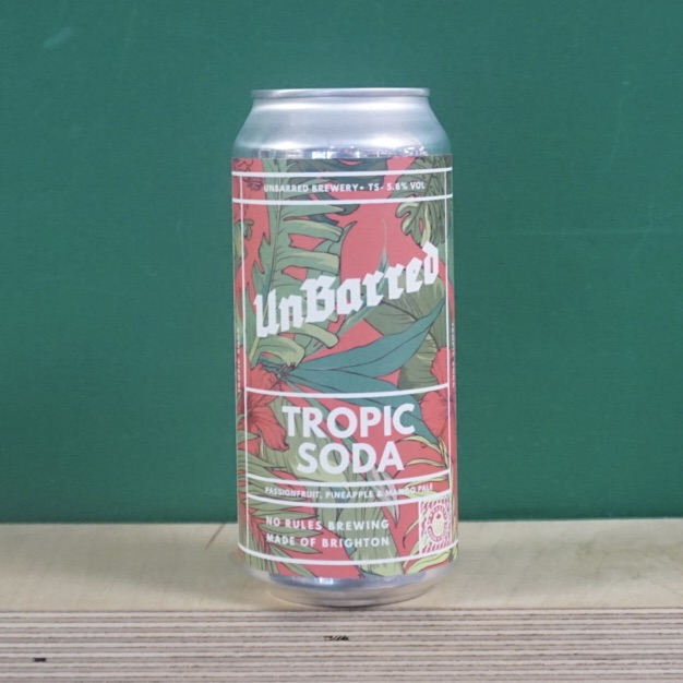 Unbarred Tropic Soda