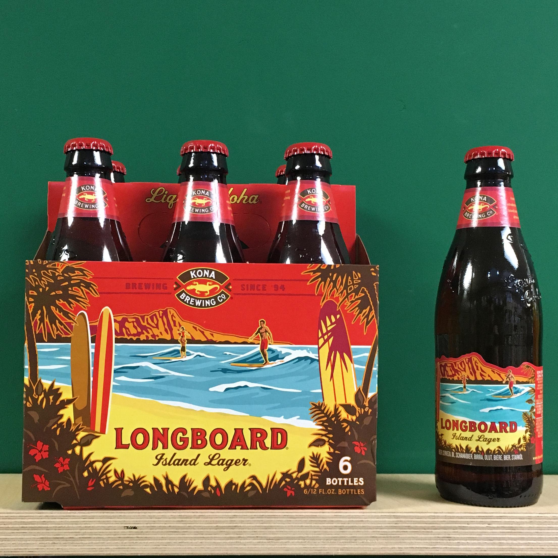 Kona Longboard 6 Pack