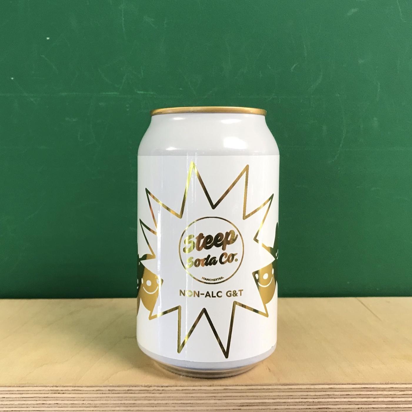 Steep Soda Co Non-Alcoholic Gin & Tonic