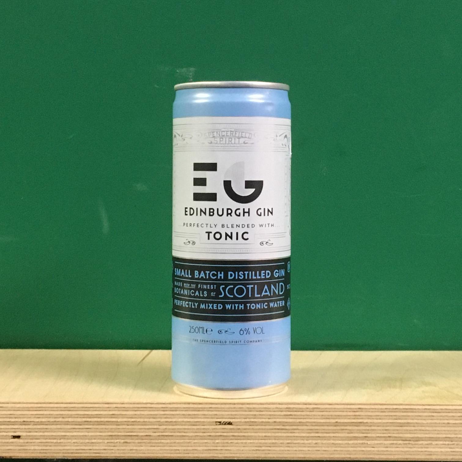 Edinburgh Gin & Tonic - Ready to drink