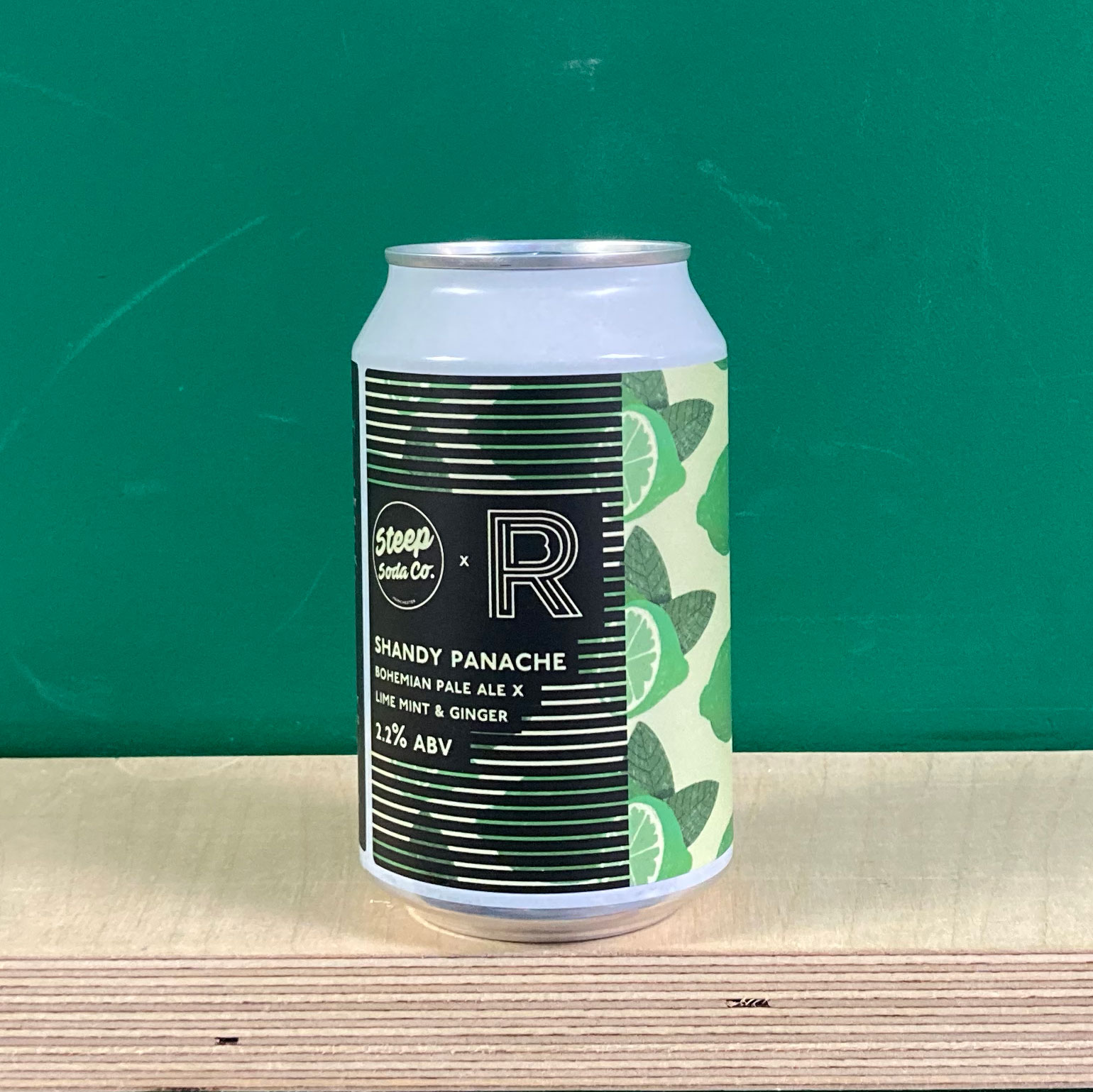 Runaway x Steep Shandy Penache Lime, Mint & Ginger