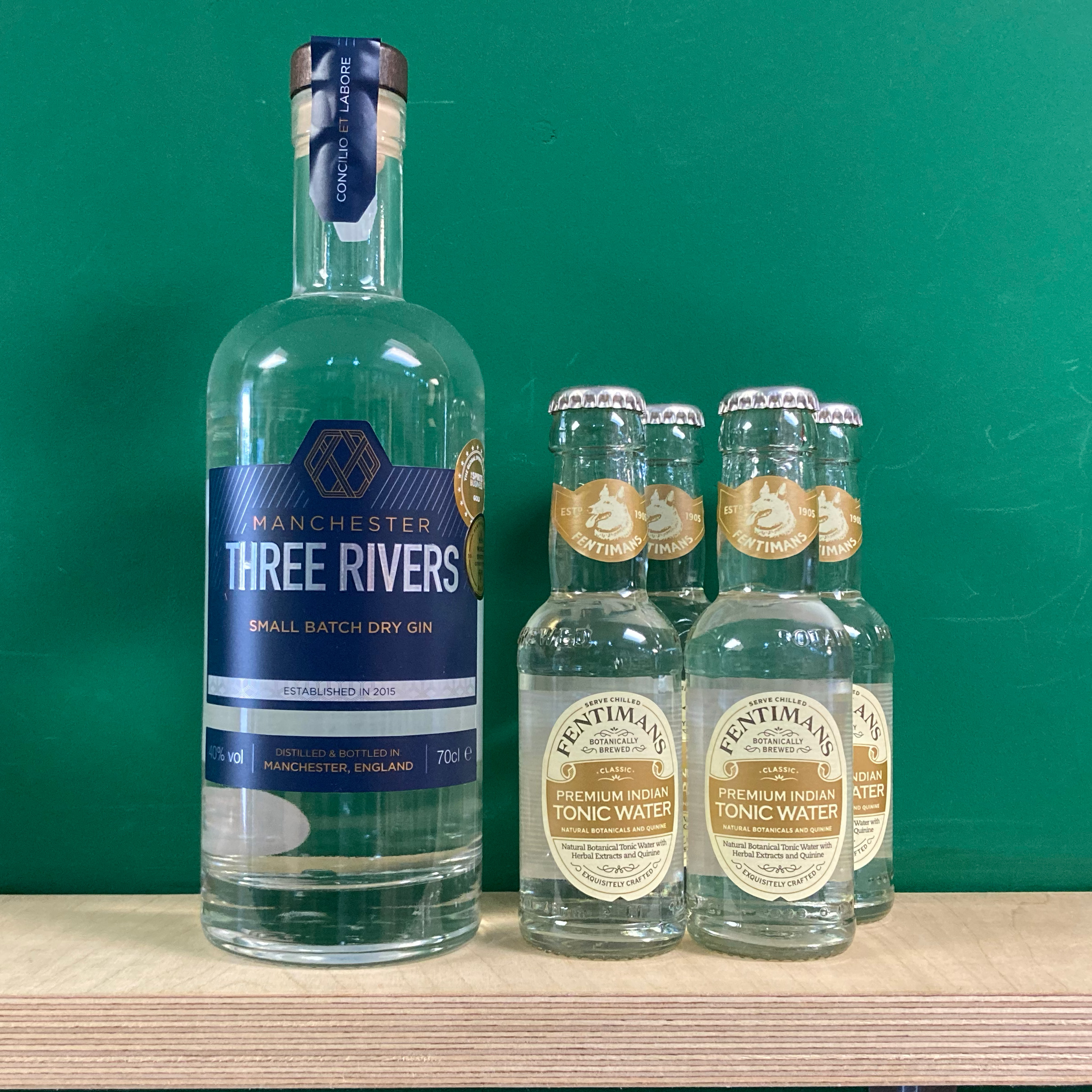 Manchester Three Rivers Gin & Tonic Pack