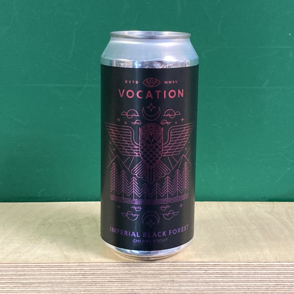 Vocation Imperial Black Forest Cherry Stout