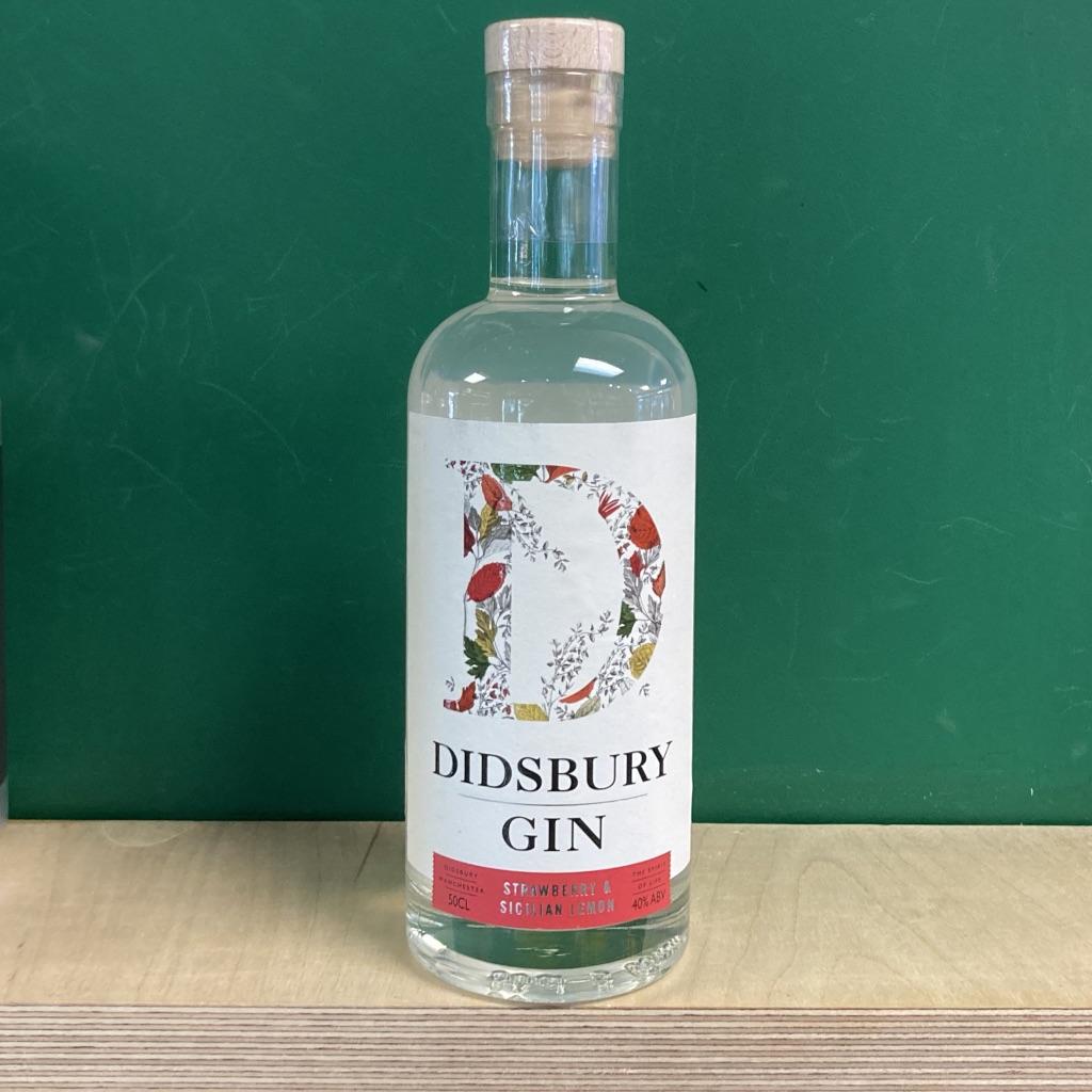 Didsbury Gin Strawberry &  Sicilian Lemon