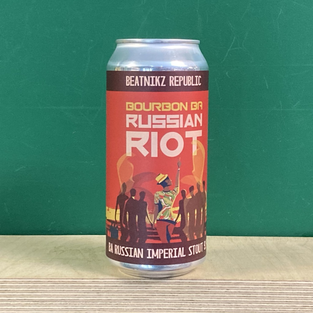Beatniks Republic Russian Riot Bourbon BA