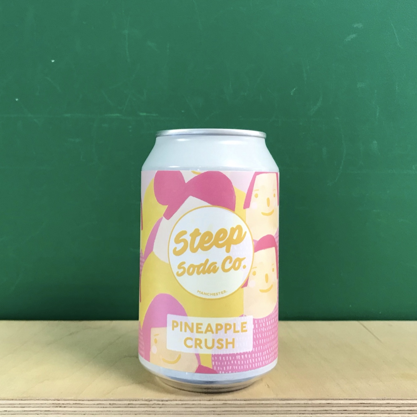 Steep Soda Co Pineapple Crush