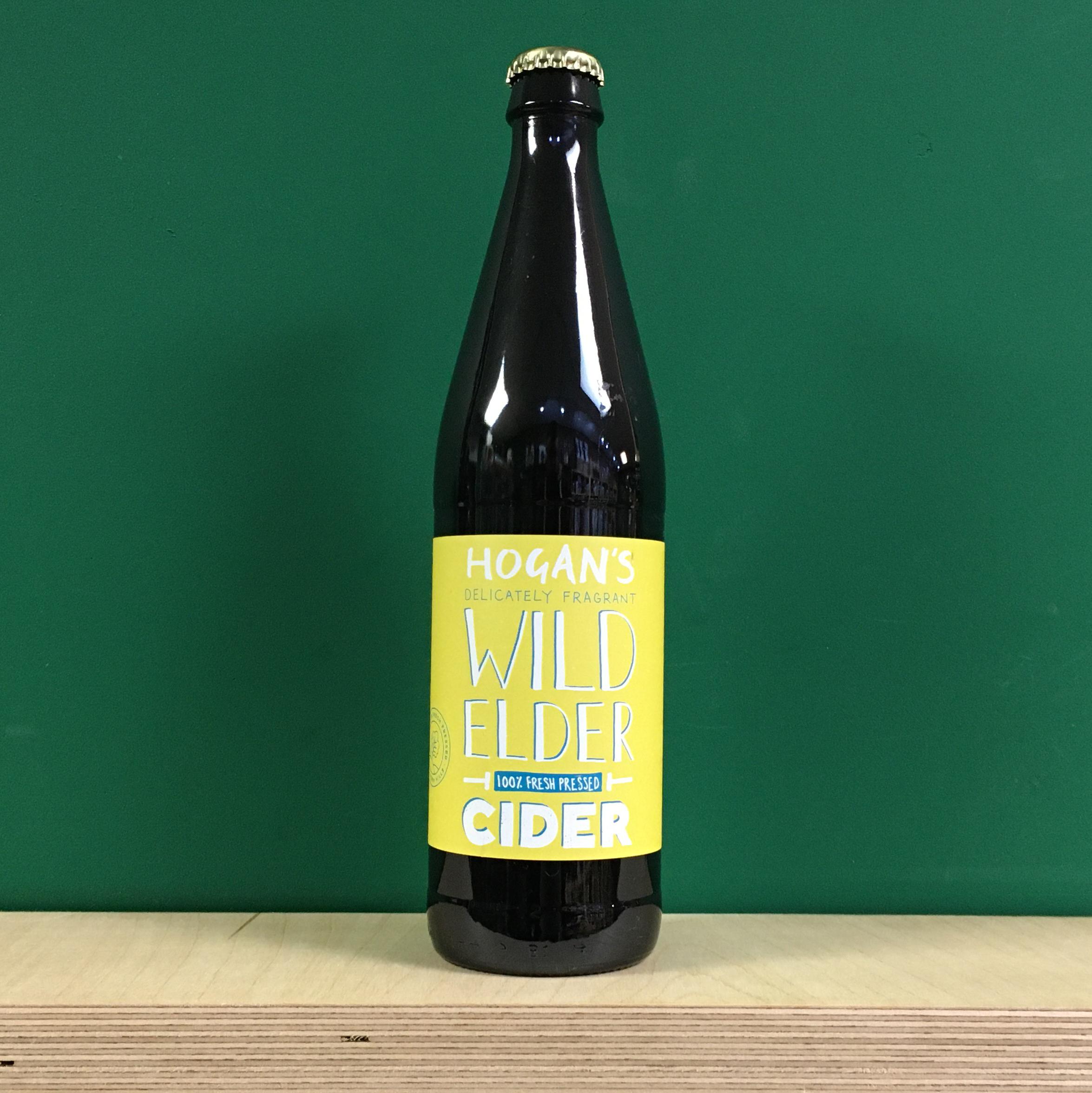 Hogans's Cider Wild Elder