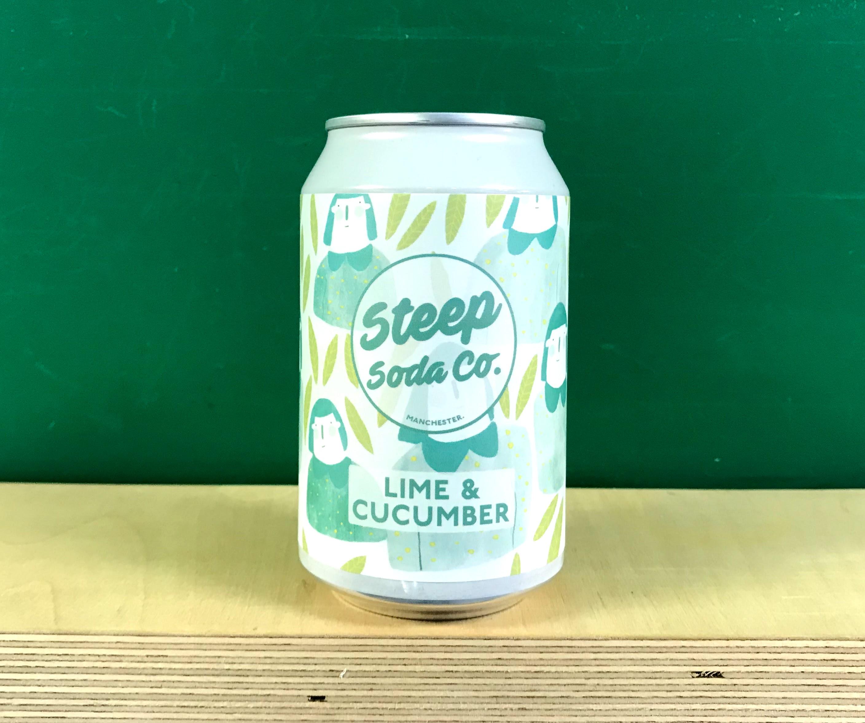 Steep Soda Co Lime & Cucumber