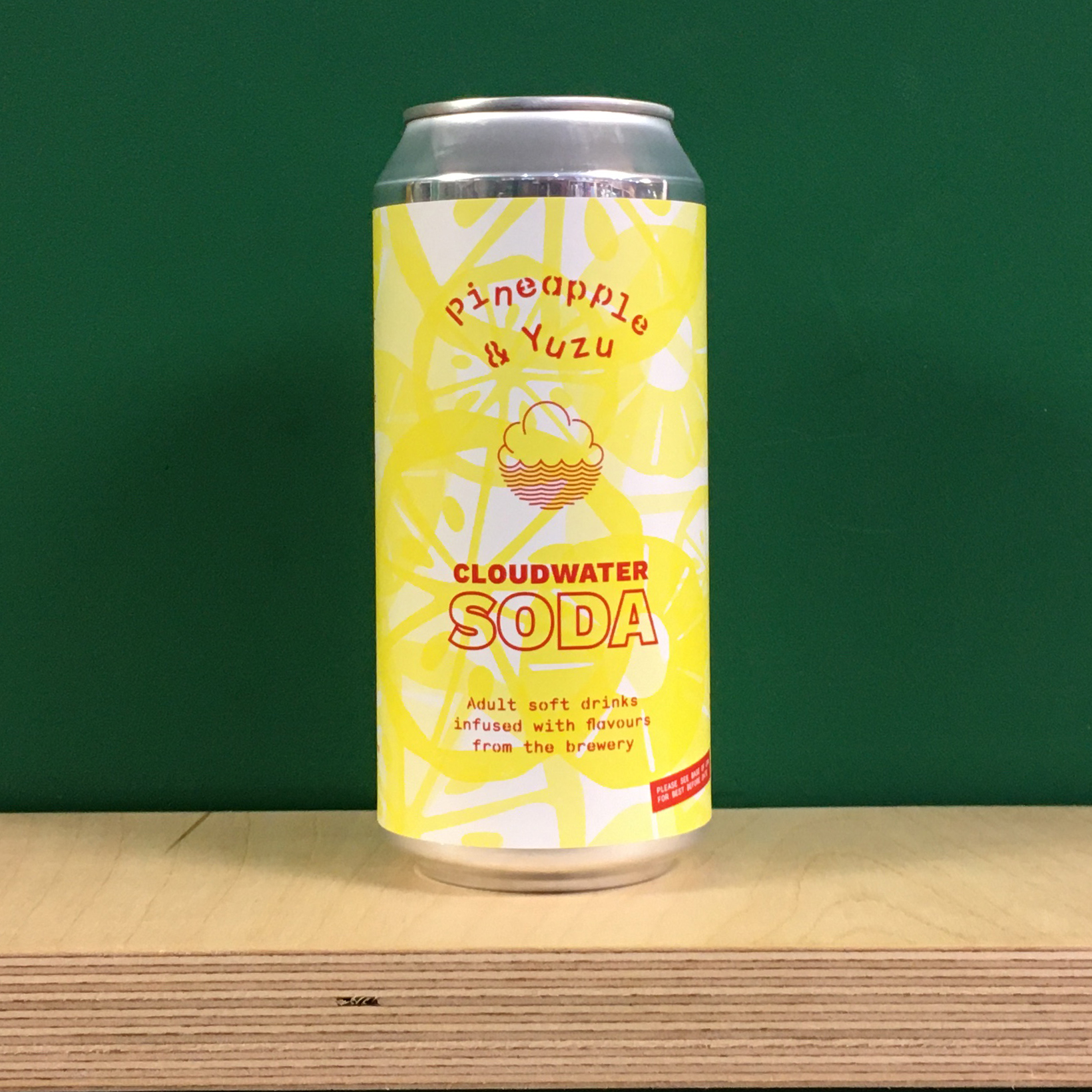 Cloudwater Soda Pineapple & Yuzu
