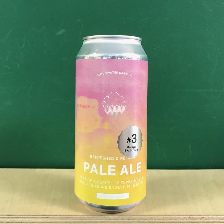 Cloudwater Pale Ale Recipe Evolution #3