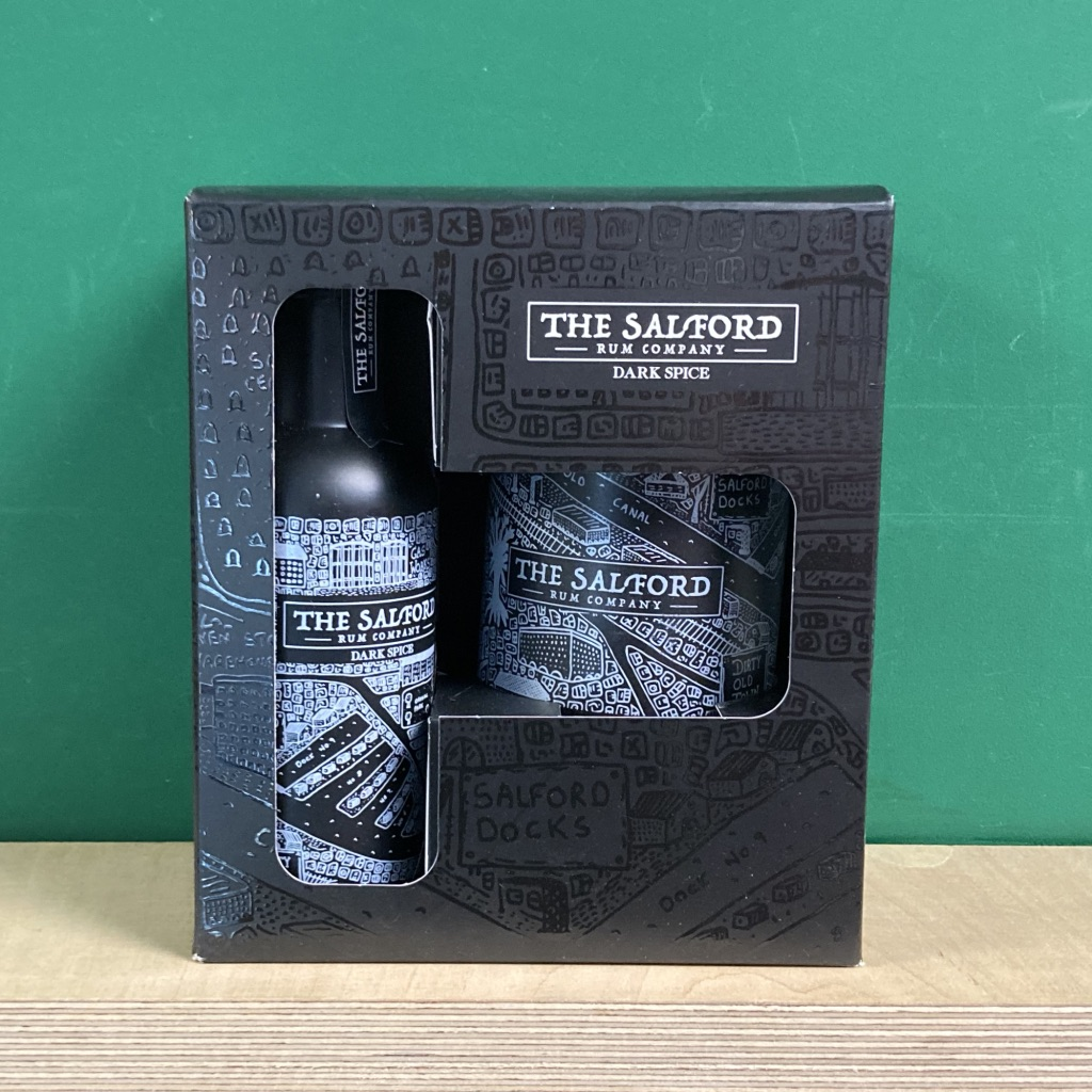 Salford Dark Rum Gift Set