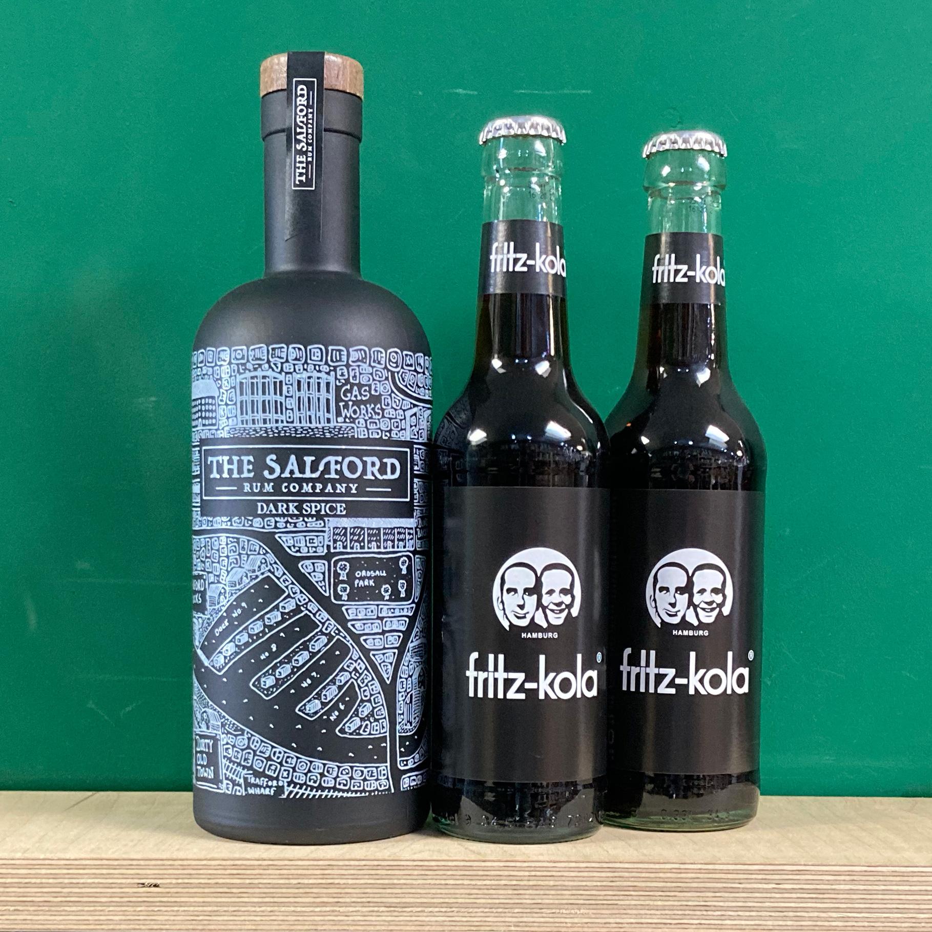 Salford Dark Rum & Cola Pack