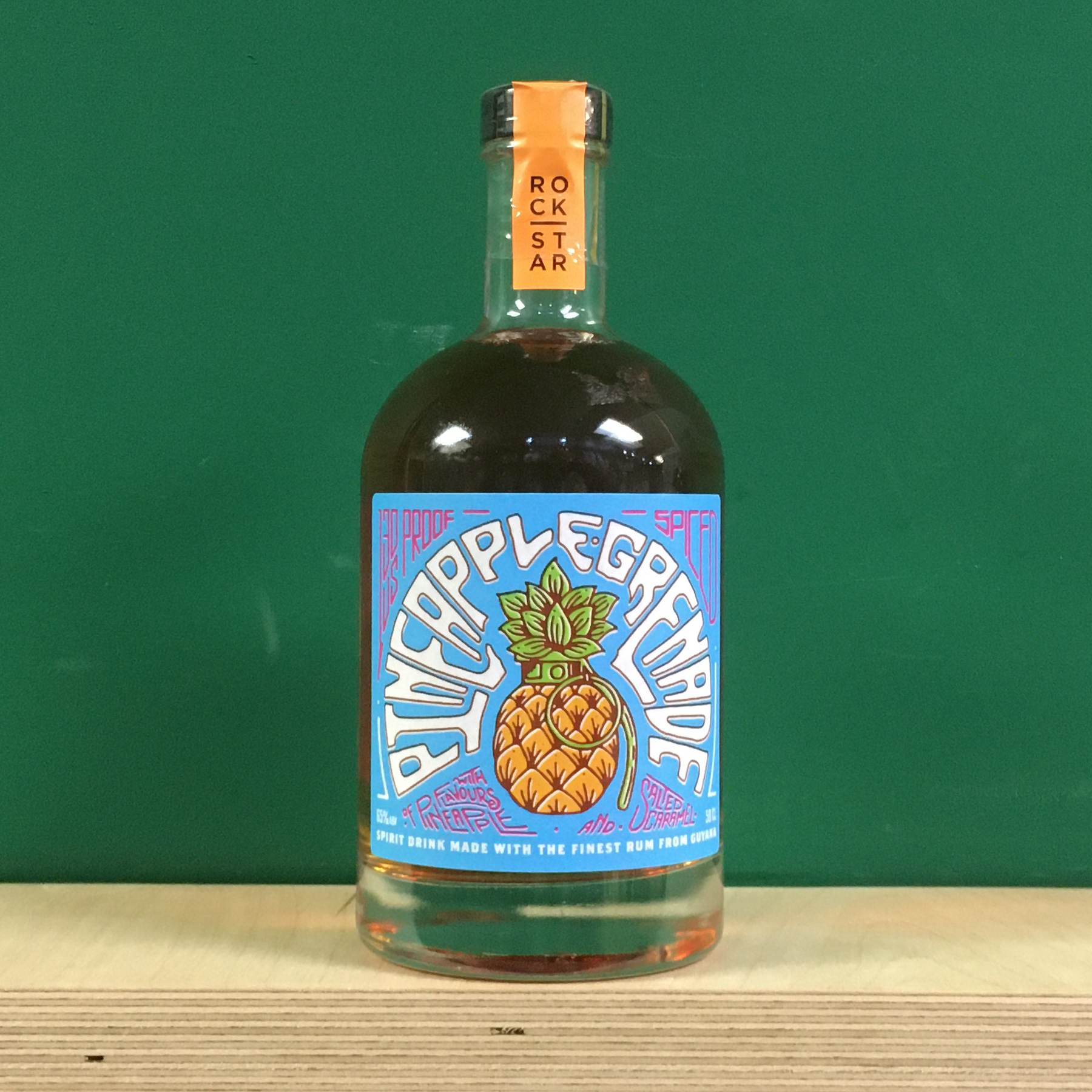 Rockstar Pineapple Grenade Rum