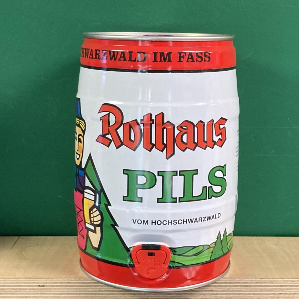 Rothaus Pilsner Mini Keg