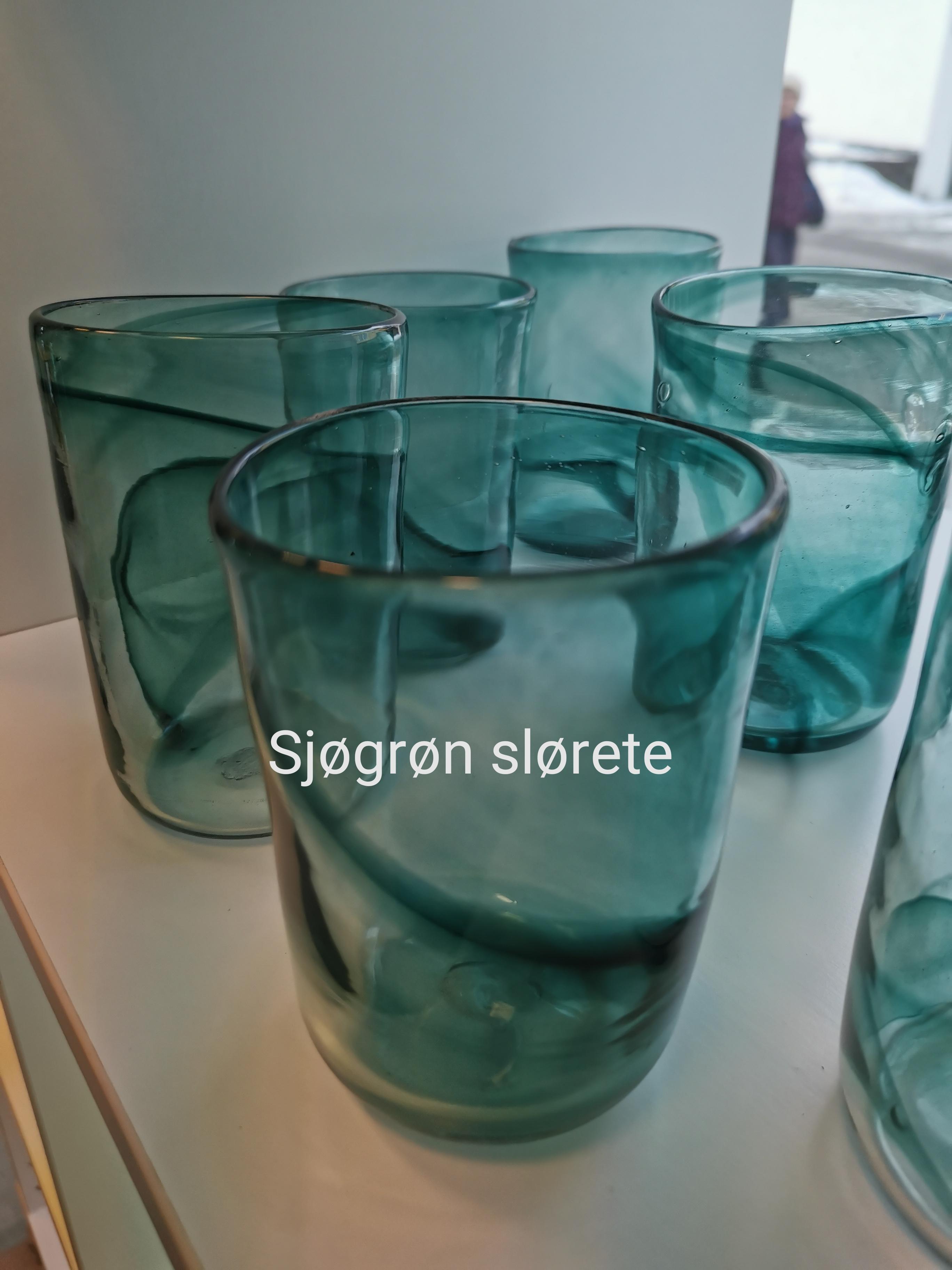 Kjøkenglas slørete