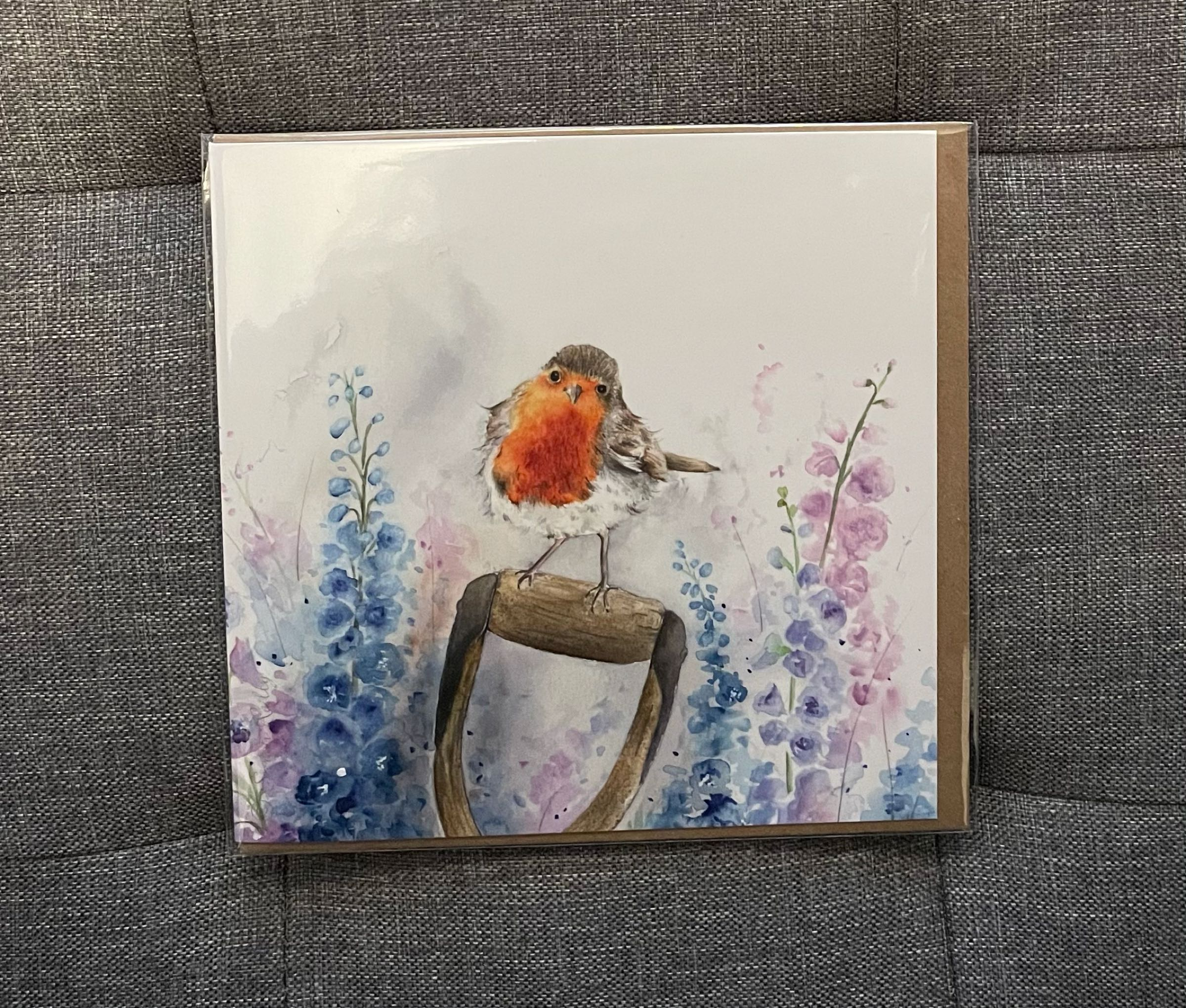 Rosie Robin greeting card